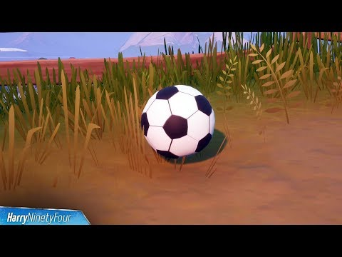 Kick A Soccer Ball 100 Meters (Soccer Ball Locations) - Fortnite Challenge