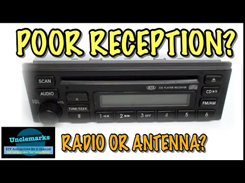 how to test radio or antenna