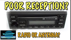 how to test if problem is the radio or antenna?
