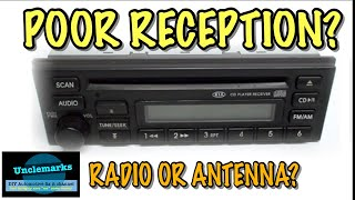 how to test if problem is the radio or antenna? (EP 20)