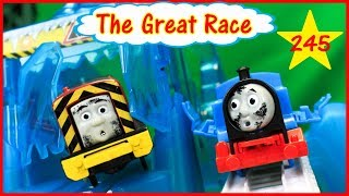 THOMAS AND FRIENDS THE GREAT RACE #245 TrackMaster Ryan Toys Train for Kids