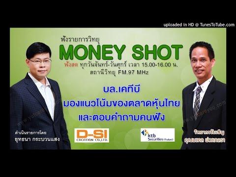 บล.เคทีบี  มองแนวโน้มของตลาดหุ้นไทย  และตอบคำถามคนฟัง  (13/09/59-1)