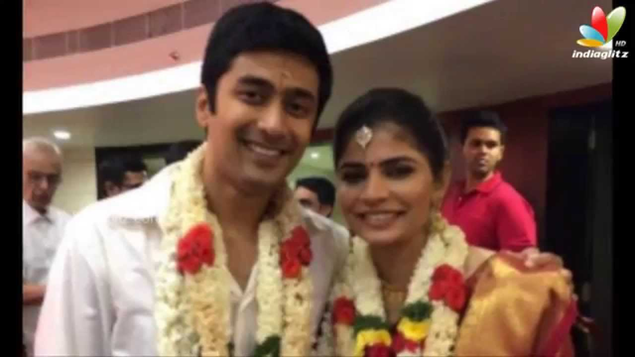 Singer Chinmayi Weds Rahul