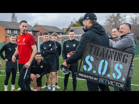 Klopp Co give amateur side training session of a lifetime! | BetVictor Training SOS Series 2 Ep2Kaynak: YouTube · Süre: 9 dakika46 saniye