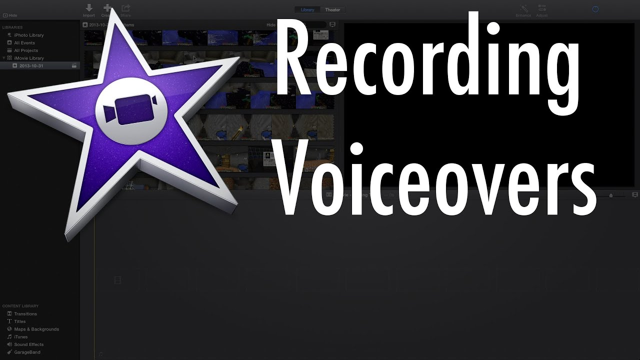 how to make voice overs on audacity