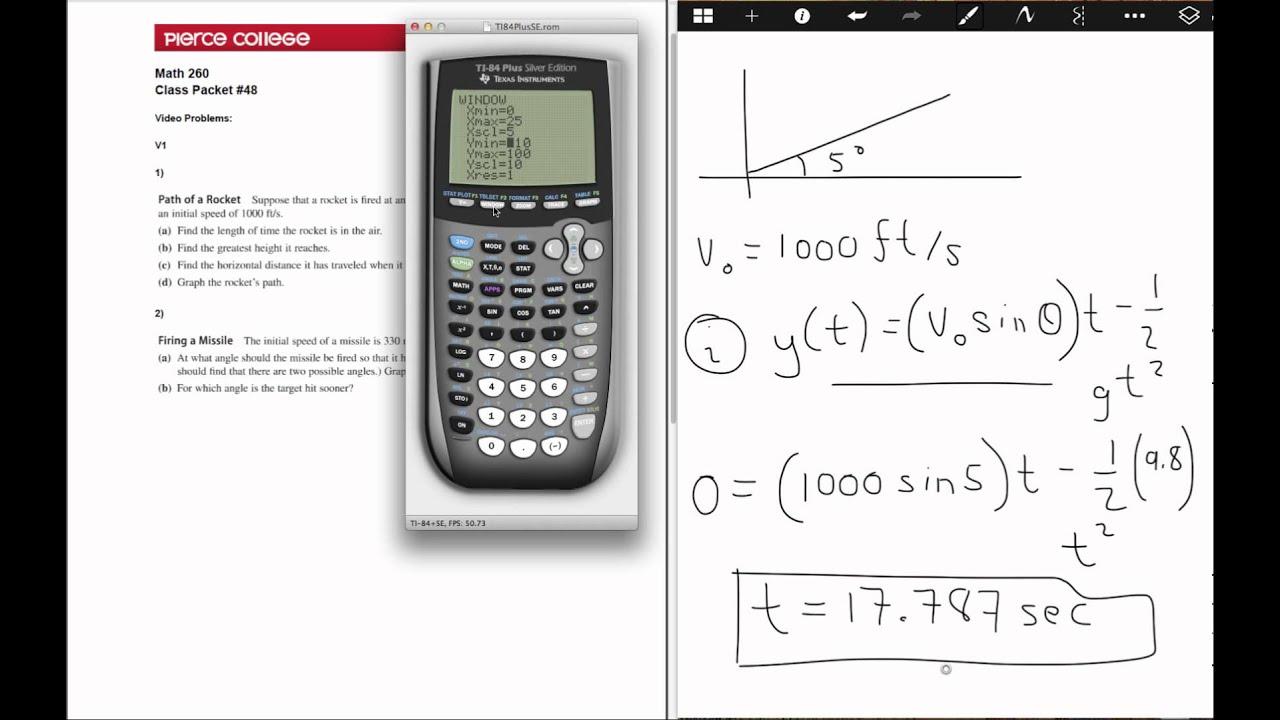 Parametric Equations Worksheet | Free Worksheet Printables