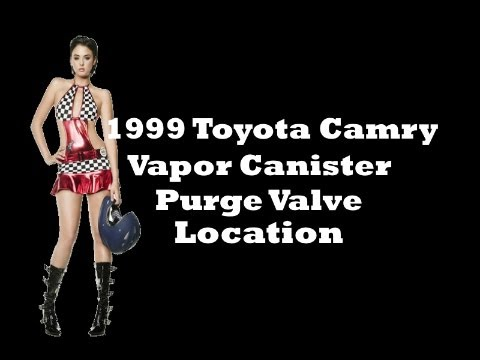 2000 toyota corolla engine diagram jeep tj stereo wiring 1999 camry vapor canister purge valve location - youtube