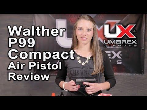 Walther CP99 Compact Air Gun Review P99 Air Pistol : Umarex Airguns