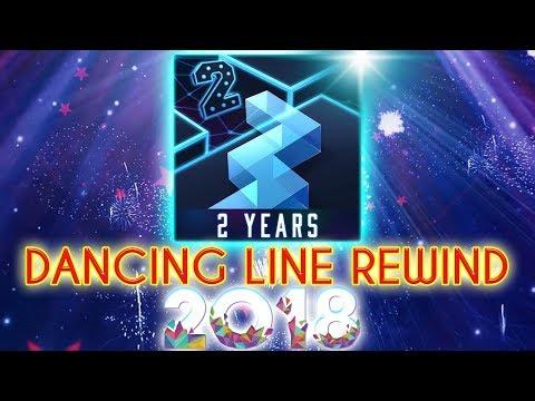 Dancing Line All Levels Rewind 2018