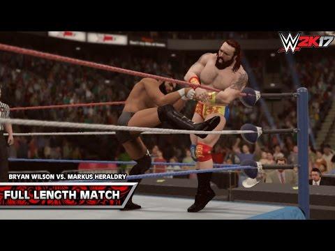 WWE 2K17: Bryan Wilson vs. Markus Heraldry