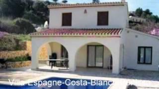 Location villa en Espagne -  Benissa  Costa Blanca Espagne
