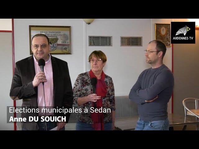 ÉLECTIONS MUNICIPALES 2020 À SEDAN - Anne DU SOUICH