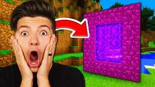 Preston Found A *SECRET* Portal (Preston Minecraft)