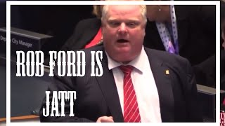 Rob Ford is Jatt - Late Night Show With Rupan Bal