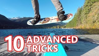 10 Advanced Snowboard Tricks - Training Board