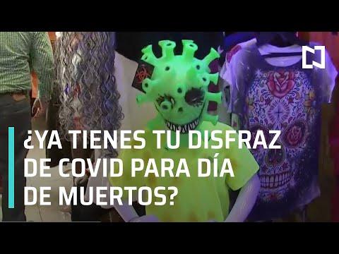 Disfraz de COVID-19 será la novedad en este Halloween - Noticias MX