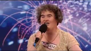 The singer Susan Boyle  Britains Got Talent 2009  HD