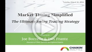 Market Timing Simplified: The Ultimate Swing Trading Strategy