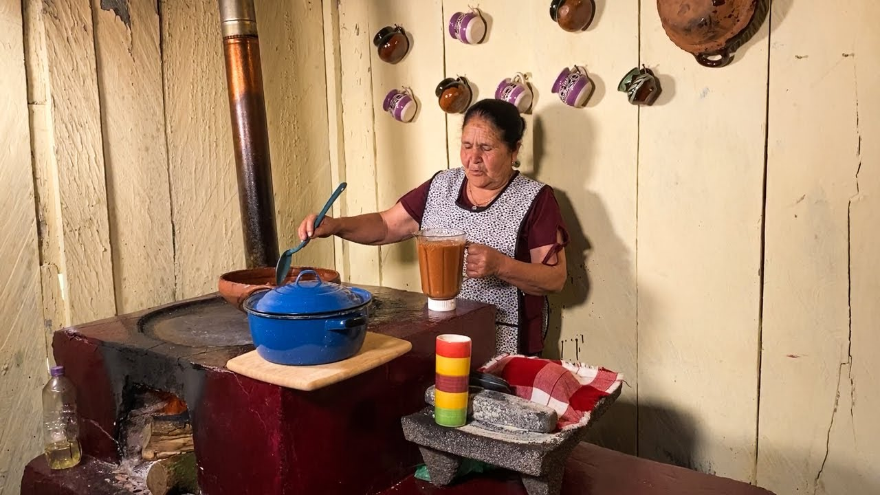 Costillitas de Puerco con Chilito y Morisqueta De Mi Rancho A Tu Cocina