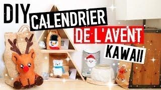 DIY NOËL : Calendrier de l'Avent KAWAII (français)