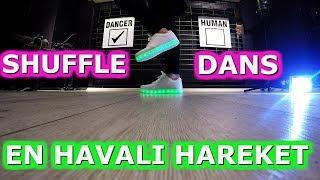 SHUFFLE DANCE NASIL YAPILIR ? [EN POPÜLER HAREKET ] '' Step by Step '' -Öğren (Ders 6)