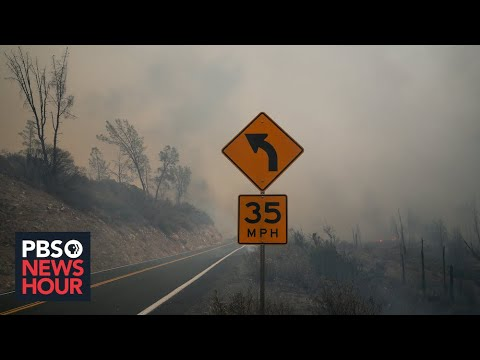 California wildfires illustrate the consequences of climate change