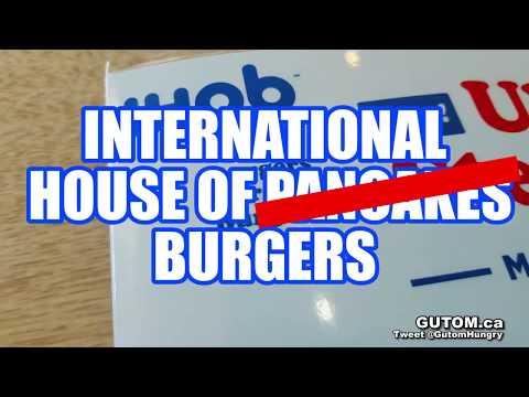 IHOB MEGA MONSTER CHEESE BURGER AT IHOP - Vancouver Food Reviews - Gutom.ca