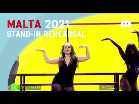 Stand-In Rehearsal - Eurovision 2021 - Malta - Destiny - Je Me Casse
