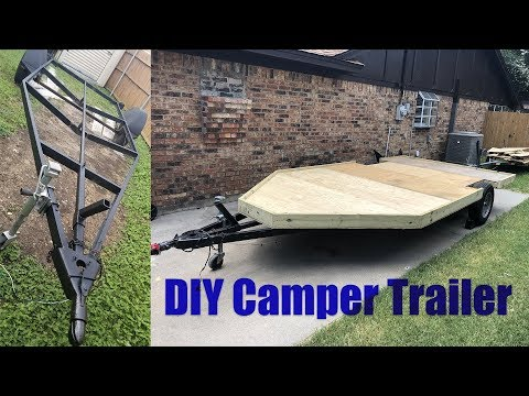 How to Build a DIY Camper Trailer - the Deck