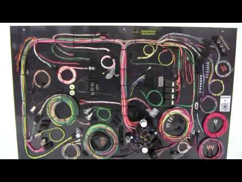 1970 74 cuda challenger classic update wiring kit from american rh youtube com 1970 barracuda wiring harness 1970 barracuda wiring harness