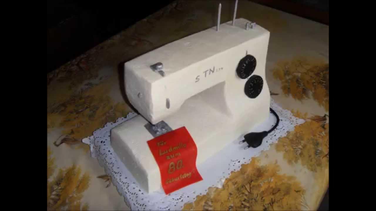 Cake Sewingmachine Youtube