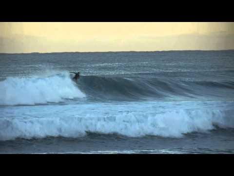 Surfing Deerfield Beach With Big Waves
