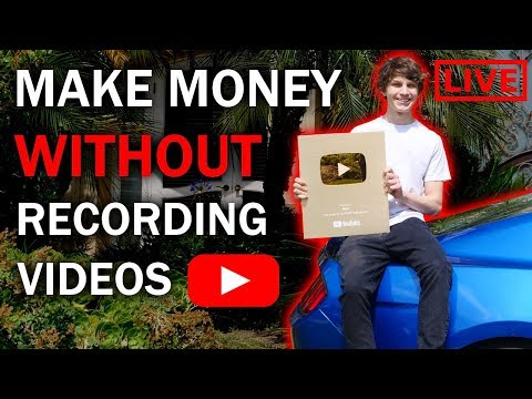 How to Make Money on YouTube Without Recording Videos LIVE Training