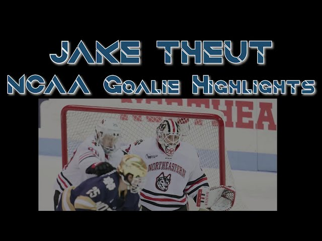 Jake Theut NCAA Goalie Highlights