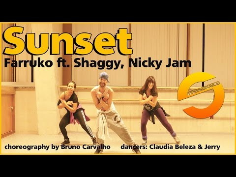 Farruko - Sunset  ft. Shaggy, Nicky Jam (choreograpy - coreografia)