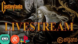 Castlevania Symphony of the Night (Translated) - Livestream 01