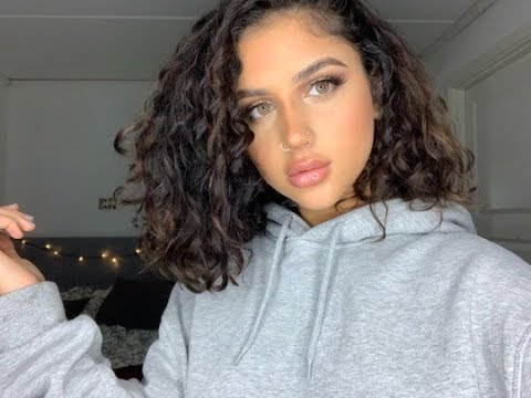 Short Curly Hair Routine 2018
