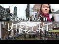 Netherlands - Getting lost in UTRECHT (Europe Travel Vlog #3)