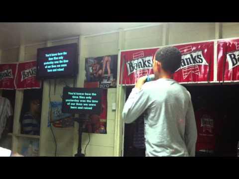 adele someone like you karaoke daniel in crab hill barbados