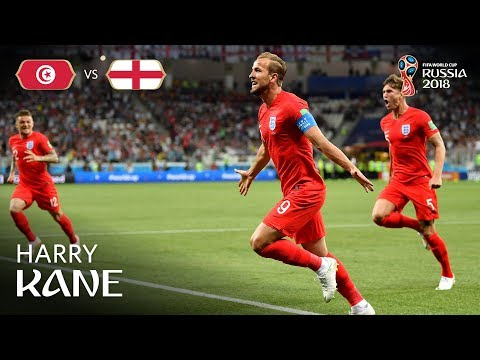 Harry KANE Goal 1 - Tunisia v England - MATCH 14