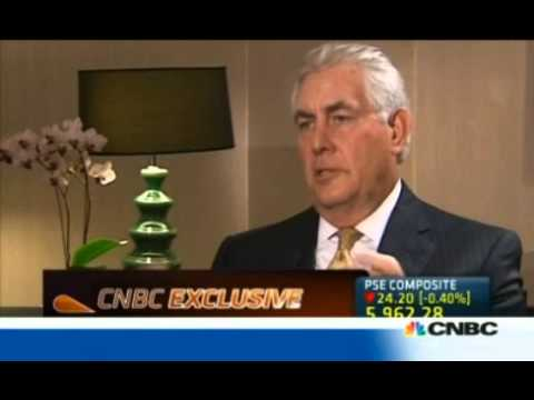 Exxon CEO: U.S. To Achieve Energy 'Self Sufficiency' by 2020