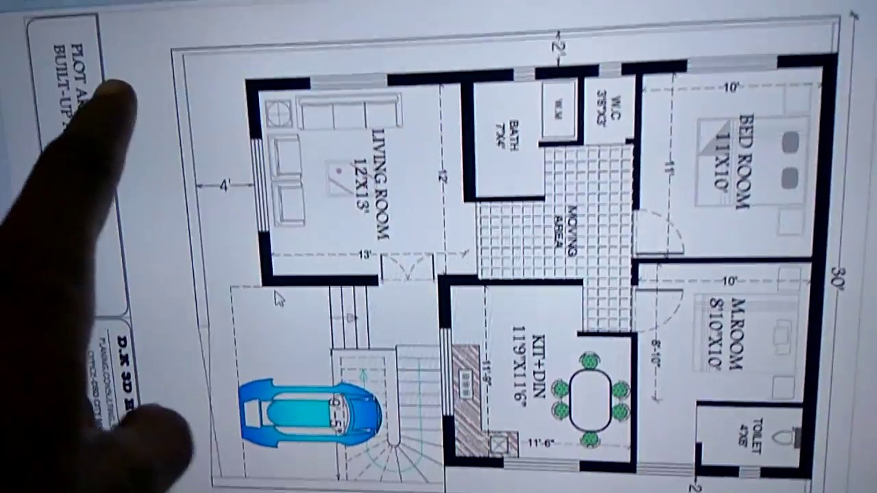 30 X 40 Latest House Plan Youtube