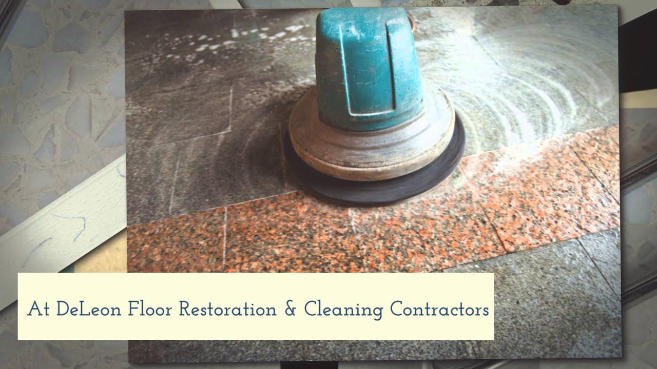 Terrazzo Floor Repair In Fort Lauderdale Fl Deleon Floor Restoration Cleaning Contractors