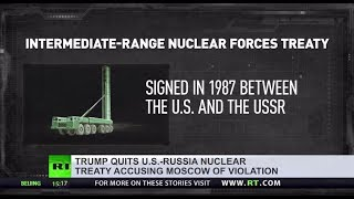 'Simply crazy': What do you think of Trump's vow to withdraw from US-Russia nuclear treaty?