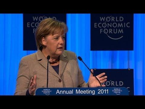 Davos Annual Meeting 2011 - Angela Merkel