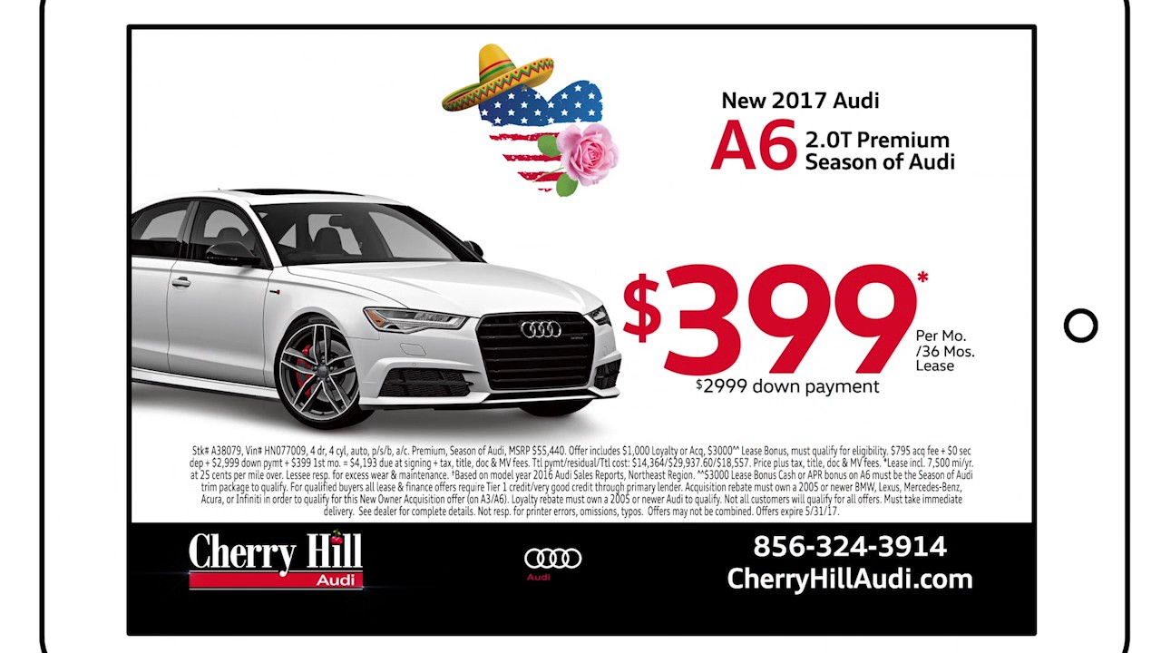 Cherry Hill Audi May Internet Specials YouTube - Cherry hill audi