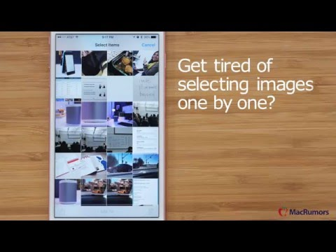 Quick iOS Tips: Mass Selecting Photos, Pausing Your Email