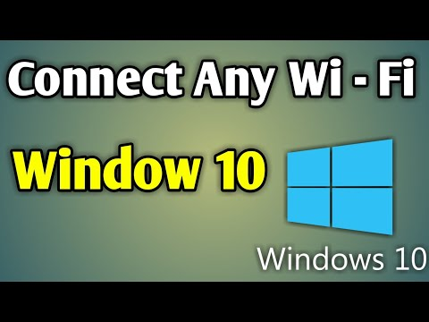 Windows 10 Wifi Connect Kaise Kare | Connect Wifi In Windows 10 | Connect Wifi In Laptop