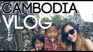 柬埔寨旅遊 Siem Reap, Cambodia Travel Diary/ Vlog 2014