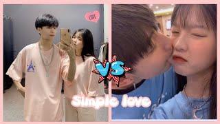 #Simplelove ĐẠI CHIẾN TIKTOK|| (Vân Xô 💙 Vinh Bi) vs (Quỳnh Anh Đỗ❤️ Lê Hoàng)